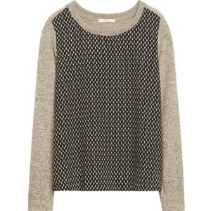 Stitch Fix Le Lis Gray Black Pullover Sweater Med
